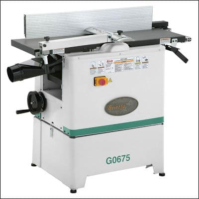 Grizzly G0675 Jointer Planer Combo review