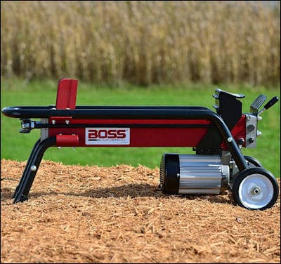 Boss Industrial ES7T20 electric log splitter review