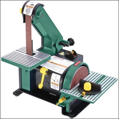 Grizzly H6070 Belt Disc Sander review
