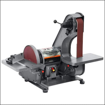 JET J-41002 Bench Belt and Disc Sander review