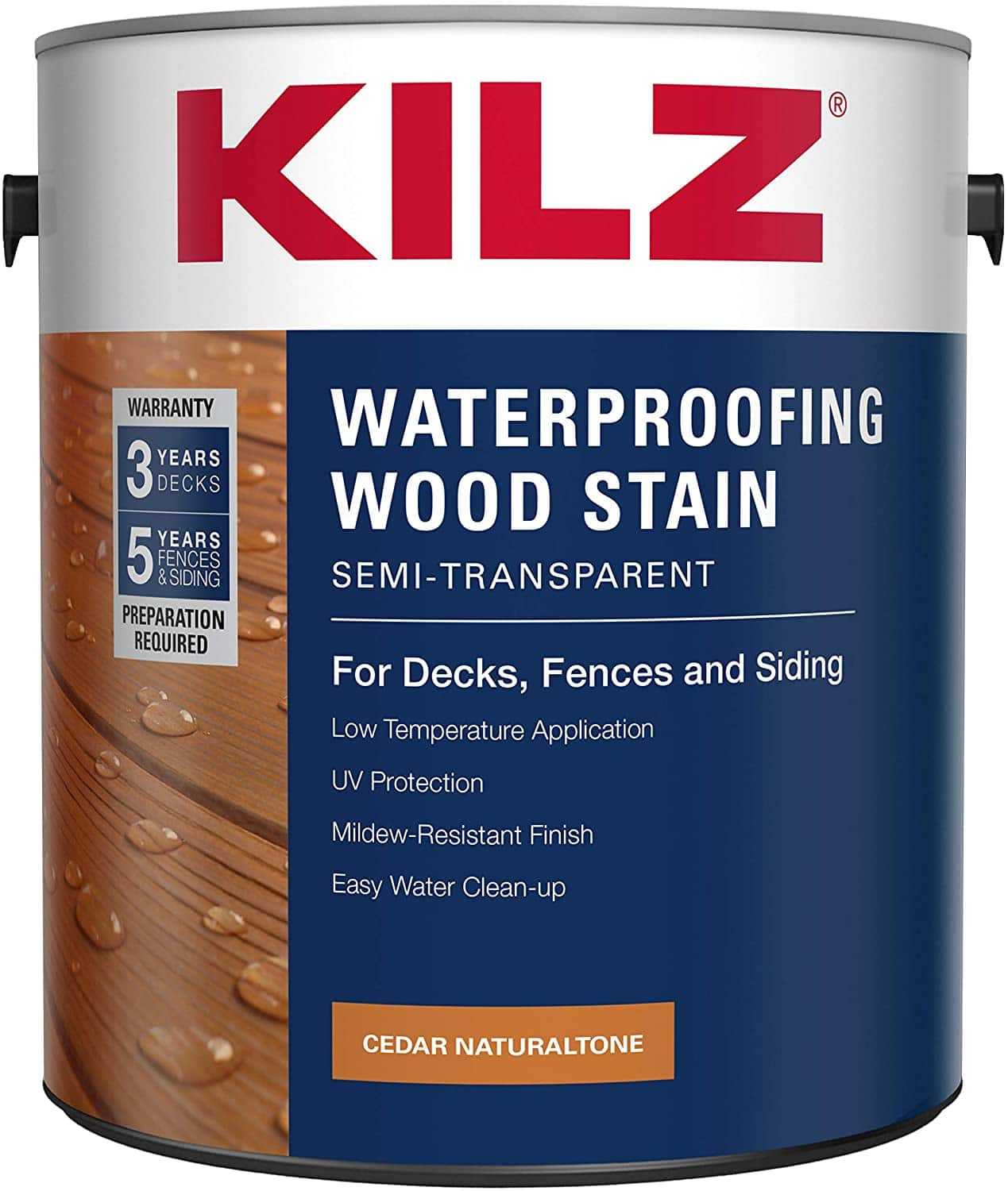 KILZ L832111 Exterior Waterproofing Wood Stain review