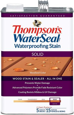 Thompsons Waterseal Solid Waterproofing Stain review