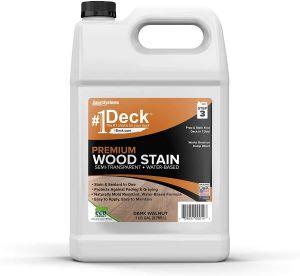 #1 Deck Premium Semi-Transparent Wood Stain for Decks review
