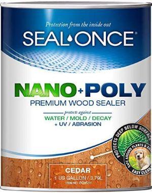 SEAL-ONCE Nano+Poly Ready Mix Penetrating Wood Sealer review
