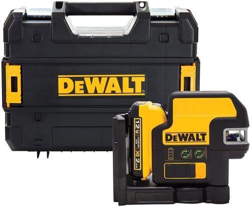 DEWALT 12V MAX Line Laser, 5 Spot + Cross Line, Green (DW0825LG) review