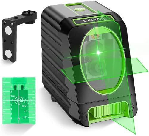 Self-leveling Laser Level - Huepar Box-1G 150ft/45m Outdoor Green Cross Line Laser Level with Vertical Beam review